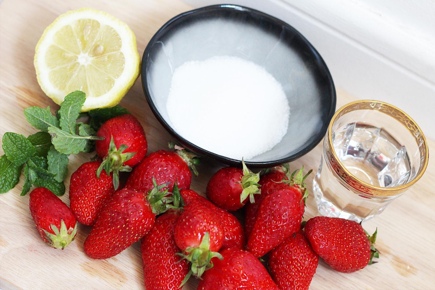 salade-de-fraises-menthe