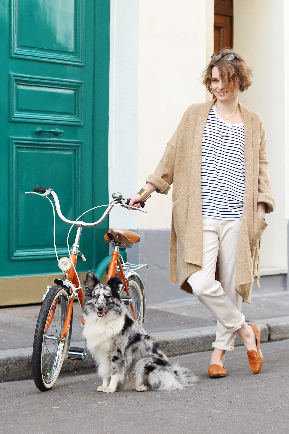 look-vélo-vintage-orange