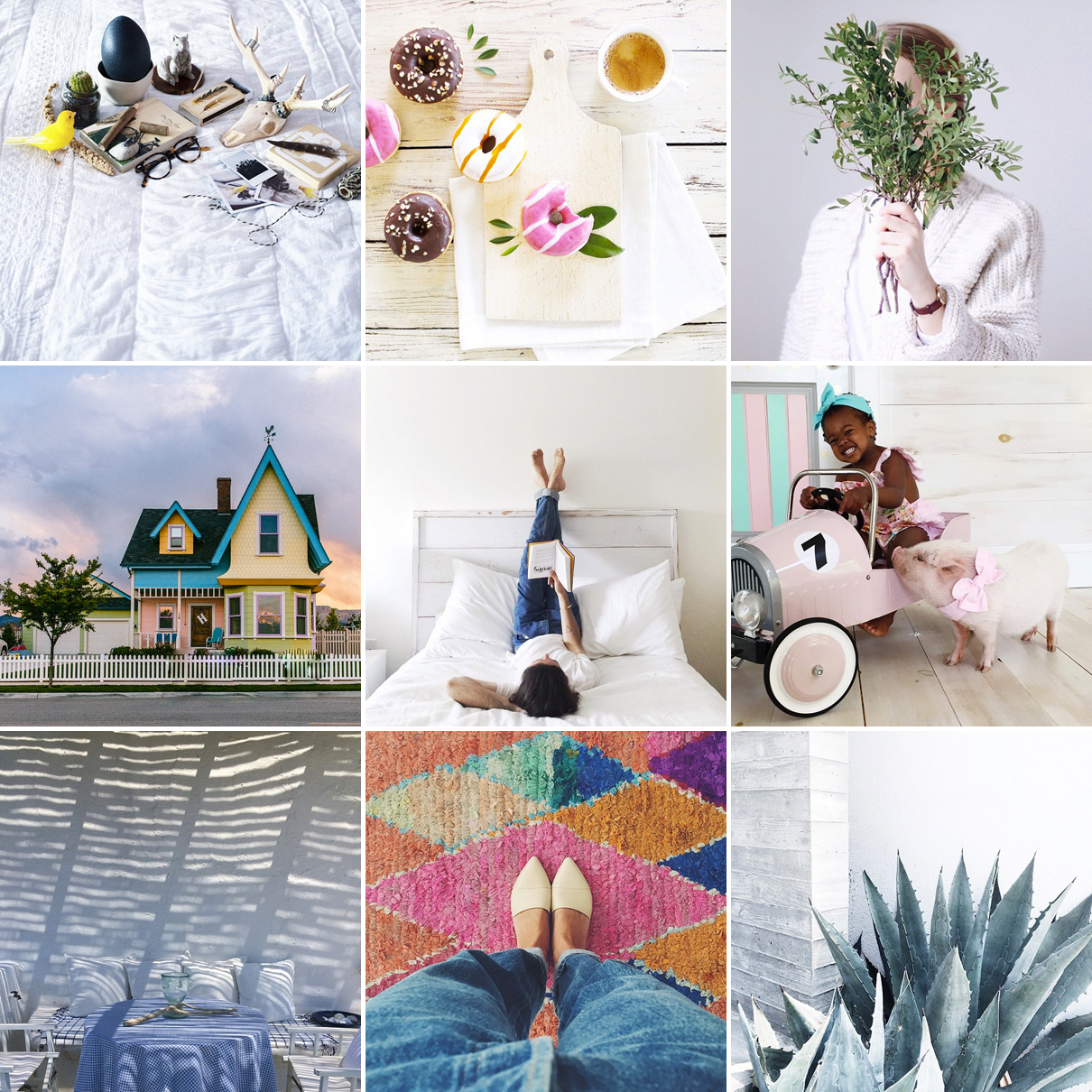 instagram lifestyle patchwork