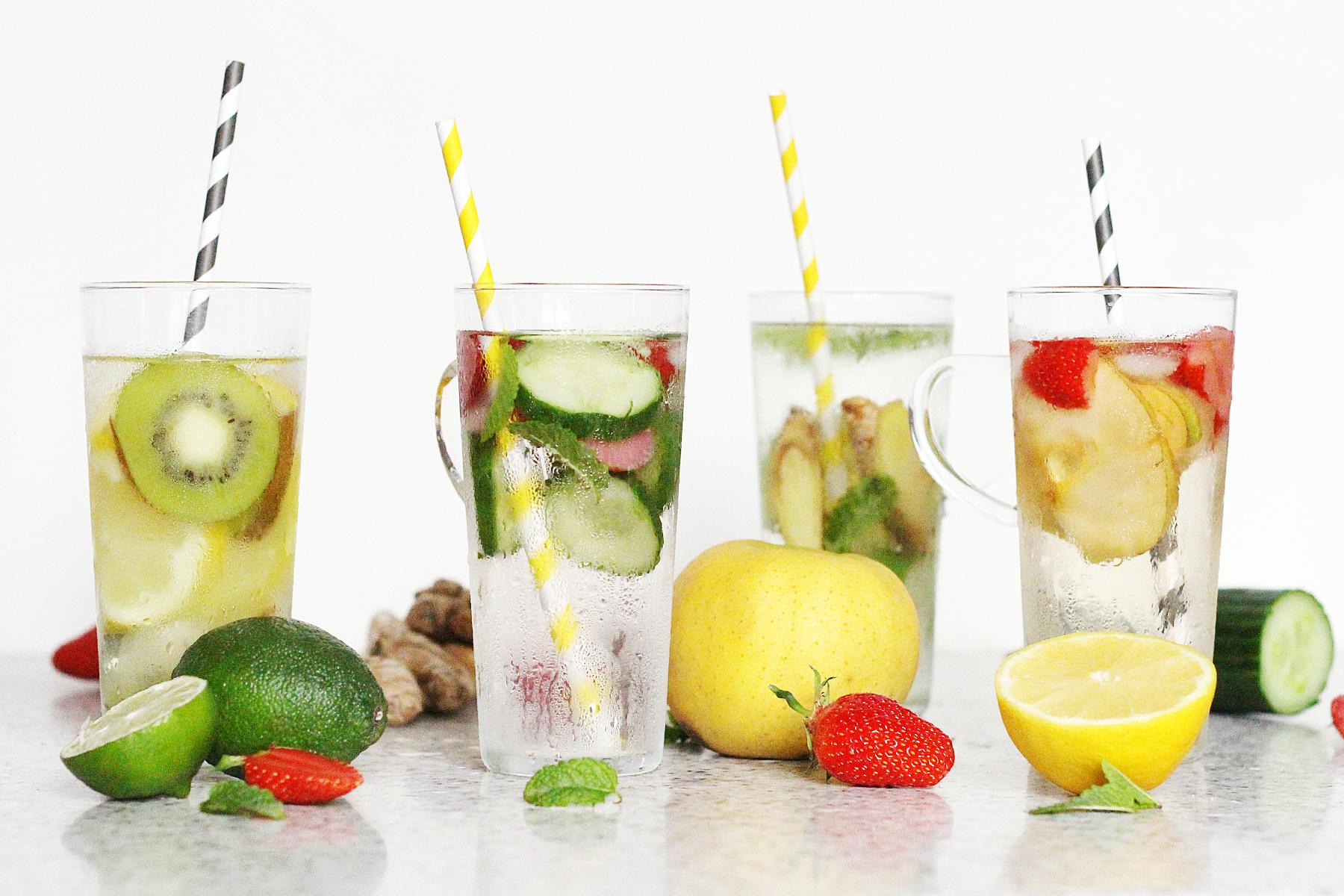 detox water recette été