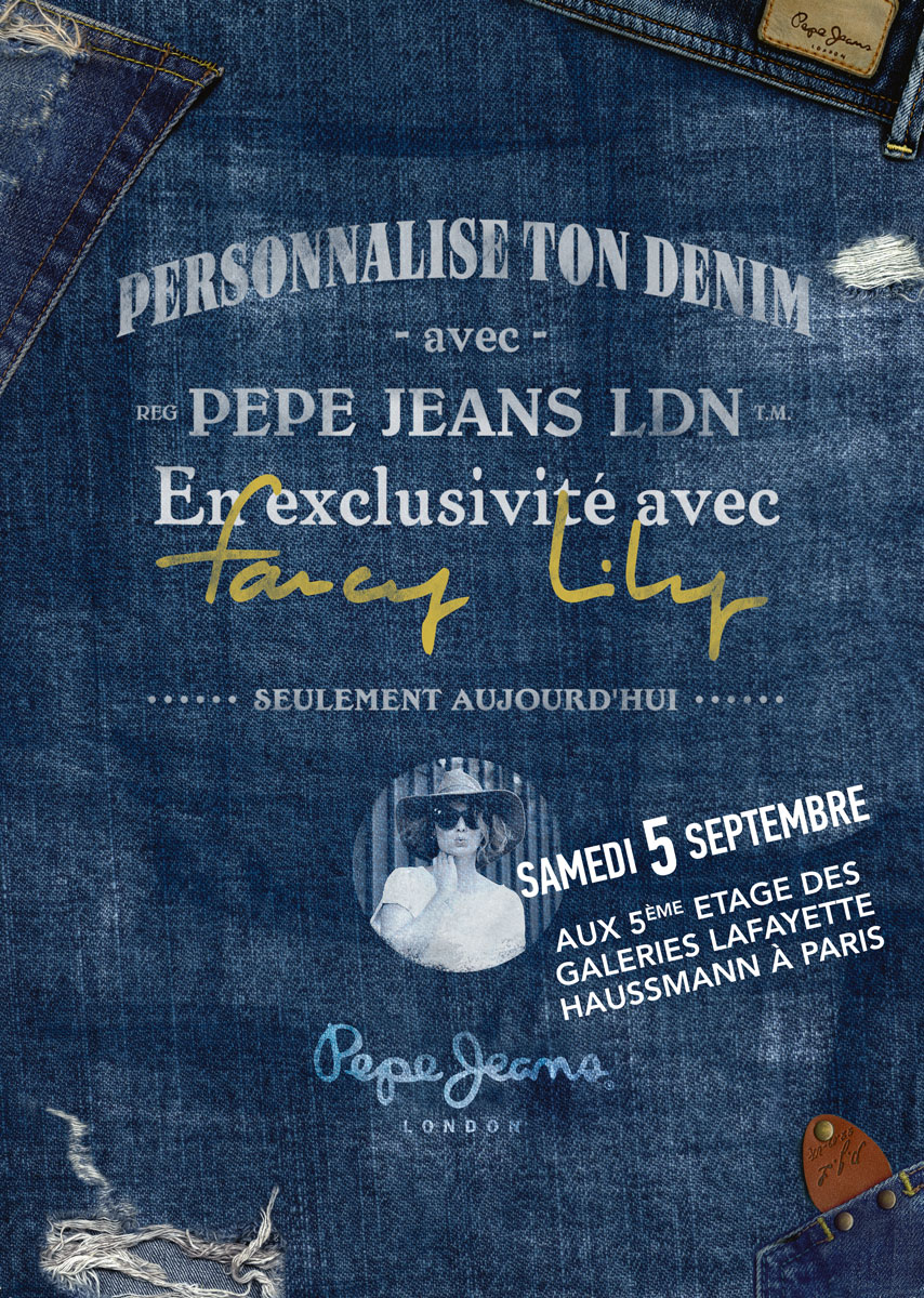 pepe jeans children party galeries lafayette