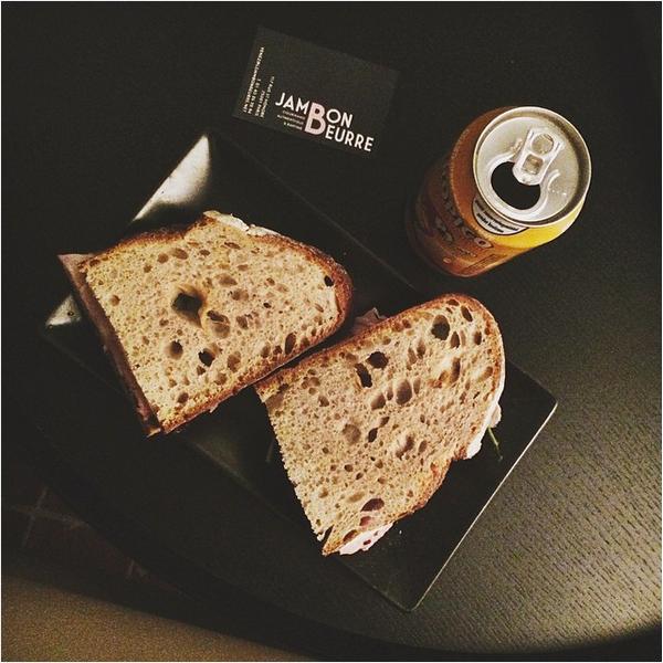 déjeuner-paris jambon beurre sandwich