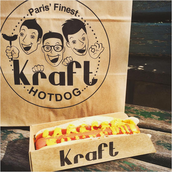 déjeuner-paris kraft hotdog